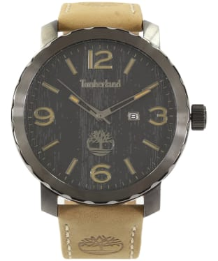 Men's Timberland Pinkerton Watch - Black / Camel