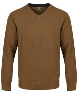 Men's Musto Shooting V-Neck Sweater - Toffee