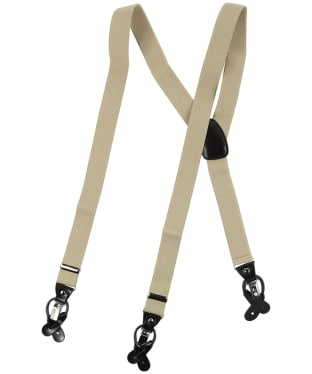 Men's Soprano Luxury Braces - Camel