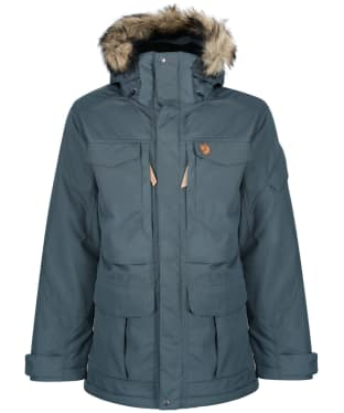 Men's Fjallraven Yupik Waterproof Parka - Dusk