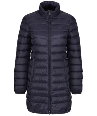 Women's Crew Clothing Lightweight Long Down Jacket