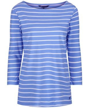 Women's Crew Clothing Essential Breton Top - Indigo / White