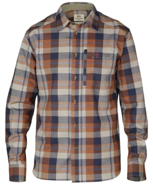 Men's Fjallraven Fjallglim Long Sleeve Shirt - Autumn Leaf