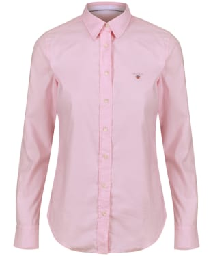 Women's GANT Stretch Oxford Shirt - Light Pink