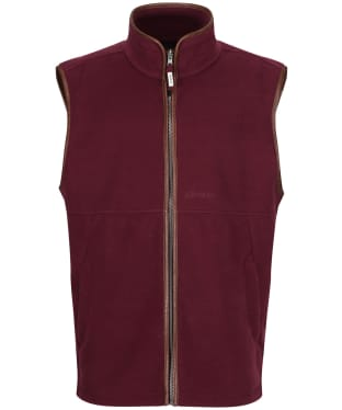 Men's Schoffel Oakham Fleece Gilet - Fig