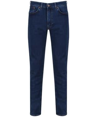Men's GANT Tyler Comfort Jeans - Dark Blue Broken Indigo