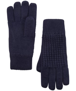 Men's Joules Bamburgh Knitted Gloves - Midnight