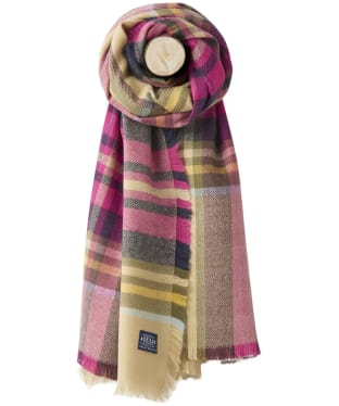 Women's Joules Berkley Scarf - Natural Check