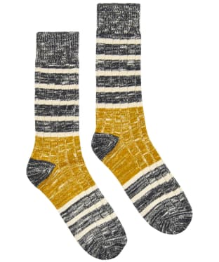 Men's Joules Chunky Boot Socks - Buckthorn Stripe