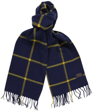 Women's Joules Bracken Scarf - French Navy Check