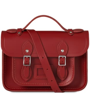 Women's The Cambridge Satchel Company Magnetic Mini Leather Satchel - Red