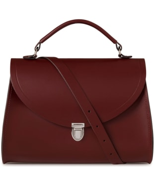 Women's The Cambridge Satchel Company Poppy Leather Bag - Oxblood