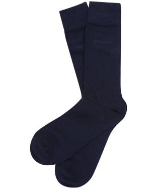 Men's GANT 3 Pack Soft Socks - Marine