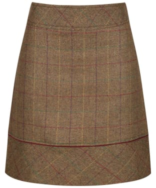 Womens Alan Paine Surrey Skirt - 46cm - Lawn