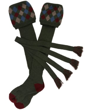 Men's Schoffel Ptarmigan Pro Socks - Forest / Mulberry / Mink / Denim