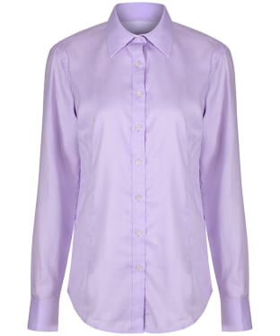 Women's Alan Paine Bromford Check Shirt - Lilac