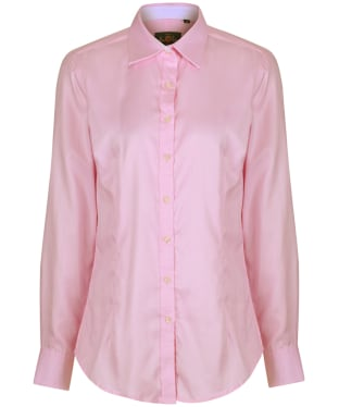 Women's Alan Paine Bromford Check Shirt - Pink