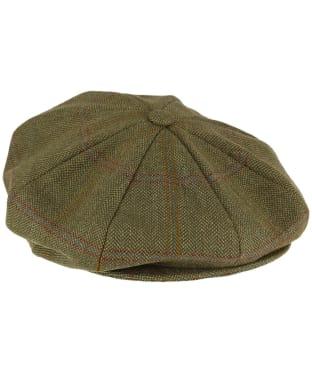 Men's Schoffel V8 Tweed Cap - Sandringham Tweed