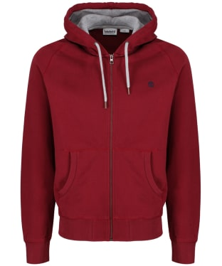 Men's Timberland Exeter River Full Zip Hoodie - Pomegranate