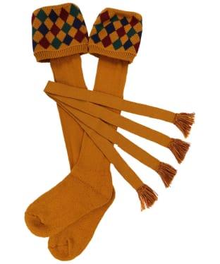 Men's Schöffel Ptarmigan II Socks - Ochre / Brick / Navy / Dark Olive