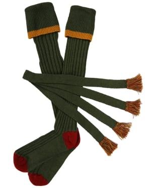 Men's Schoffel Snipe Socks - Dark Olive