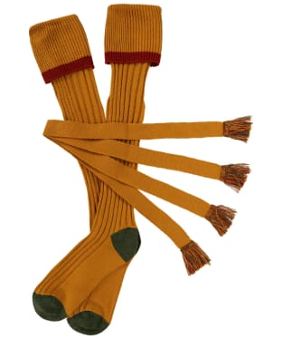 Men's Schoffel Snipe Socks - Ochre