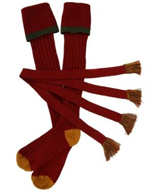 Men's Schoffel Snipe Socks - Brick
