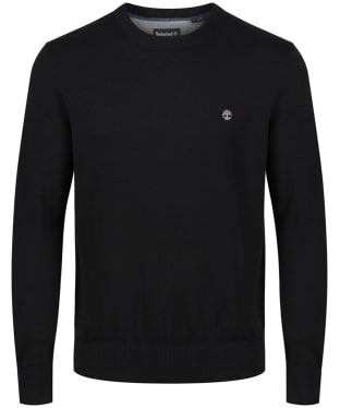 Men's Timberland Williams River Crew Neck Sweater - Black