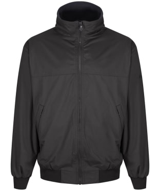Men's Musto Snug Blouson Waterproof Jacket - Liquorice / Cinder