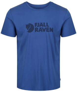 Mens Fjallraven Logo T-Shirt - Deep Blue