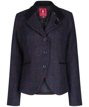 Women's Jack Murphy Harriet Tweed Jacket - Navy Check