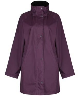 Women's Jack Murphy Oxford Waterproof Coat - Blackberry