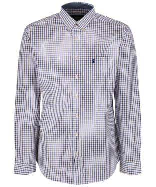 Men's Joules Hensley Check Shirt - Blue Multi Check