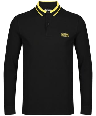 Men's Barbour International Spark Polo Shirt - Black