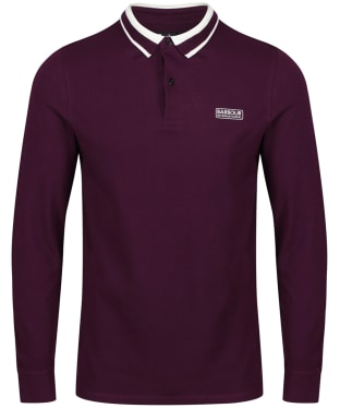 Men's Barbour International Spark Polo Shirt - Purple