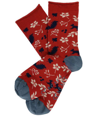 Women's Seasalt Arty Socks - Squirrel Umber