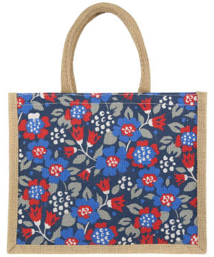 Women's Seasalt Cute Jute Bag - Textured Meadow Marine