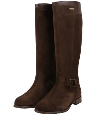 Women's Dubarry Limerick Knee High Boots - Cigar