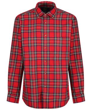 Men's Viyella Tartan Shirt - Royal Stewart