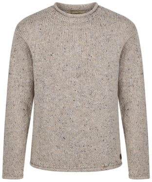 Men's Dubarry Marshall Sweater - Oatmeal