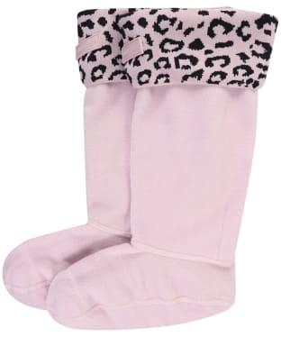 Women's Hunter Original Snow Leopard Boot Socks