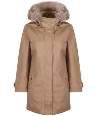 Women's Joules Aspen Mid Length Waterproof Parka Jacket
