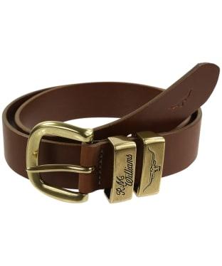 Men's R.M. Williams Drover Belt - Brown