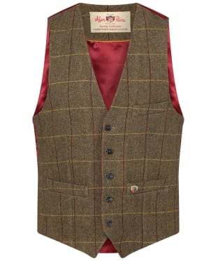 Men's Alan Paine Surrey Back Lined Waistcoat - Highland