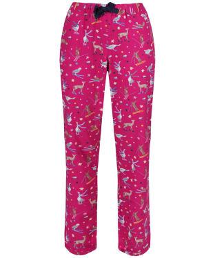 Women's Joules Snooze Woven Pyjama Bottoms