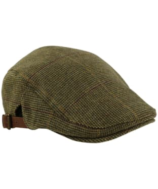 Alan Paine Combrook Waterproof Unisex Tweed Cap - Heather