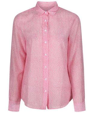 Women's GANT Confetti Shirt - Geranium Pink