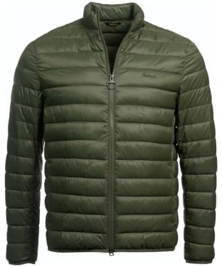 Men's Barbour Penton Quilted Jacket - Olive