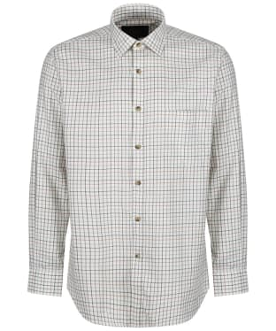 Men's Viyella Lovat Green Tattersall Shirt - Lovat