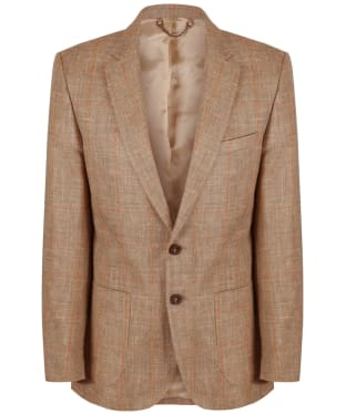 Men's Dubarry Millar Linen Sports Jacket - Whiskey